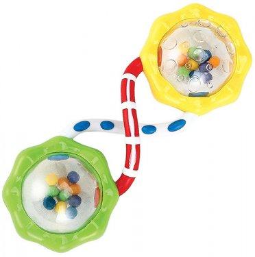 Игрушка-погремушка HAPPY BABY Fun up, шарики