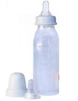 Бутылочка Pigeon с клапаном для кормления детей с расщелиной неба и/или губы 240 мл