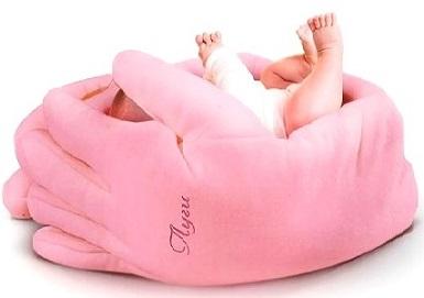 Подушка - позиционер Луги розовые