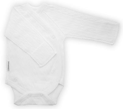 "Боди из интерлока ""Ажур "" белый,  антицарапки,  декоративный шов мережка, на рост  46 см, 50 см"