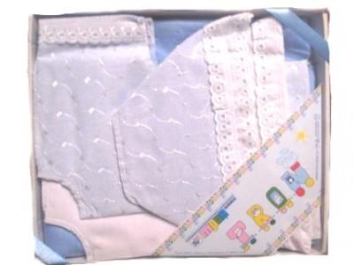 Комплект для новорожденного из 6-и предметов в подарочной коробке