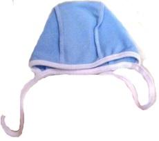 Чепчик  из футера   голубой на рост ребенка  42-44 см