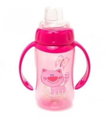 Поильник Canpol Babies  с мягким носиком, 320 мл , розовый