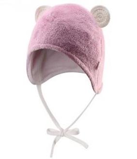 Шапка шерстяная  розовая, Reima, Финляндия.
