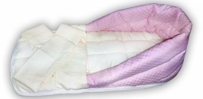 """Гнездо для недоношенных детей """"Розовое"""" из интерлока, с лямками, 2-2,8 кг"""