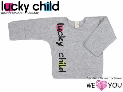 Распашонка  Lucky Child из интерлока для девочки , на рост 50 см