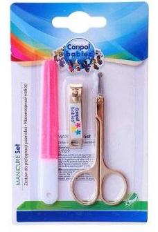 Маникюрный набор Canpol Babies розовый