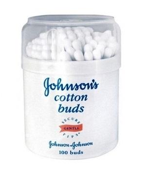Палочки ватные Johnson's baby, 100 шт