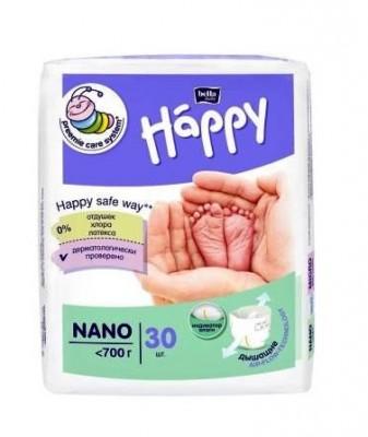 BELLA BABY HAPPY Nano вес до 700 г, 30шт.