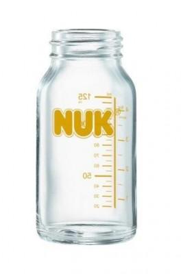 Бутылочка Nuk (Нук) , 125 мл стандартная бутылочка, стекло