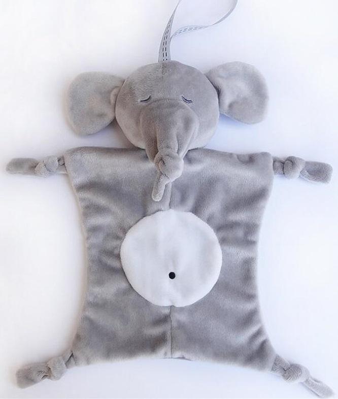 Плюшевая игрушка комфортер Слоник