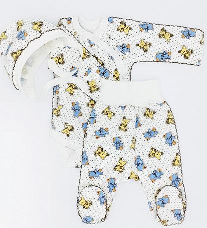 """Комплект """"Выбор"""" из футера, теплый: кофточка и штанишки, на рост  46 см, 50 см"""