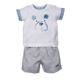 """Комплект для мальчика: футболка и шорты """"Медвежонок"""", Mothercare, на рост 56 см"""