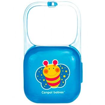 "Контейнер для пустышки синий ""Пчела"", Canpol Babies"