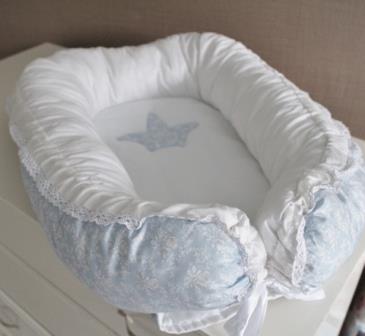 "Гнездышко кокон  babynest ""Принц""   для младенца, размер 15х57х85см"