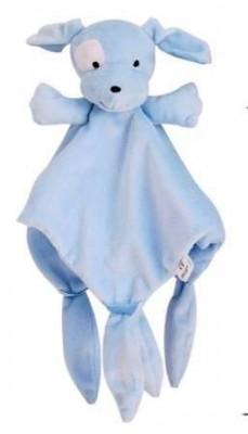 Плюшевая игрушка комфортер голубой щенок