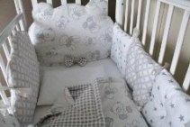 Постельное белье, комплекты в кроватку