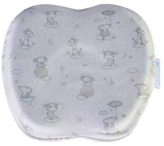 Подушка ортопедическая Фабрика облаков Бабочка,  с эффектом памяти (Memory Foam) + съемная наволочка,  до 1 года